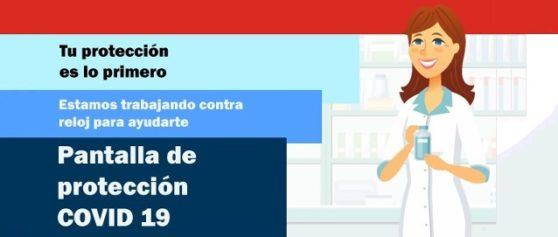 MAMPARA PORTÁTIL DE SEGURIDAD ANTICOV19